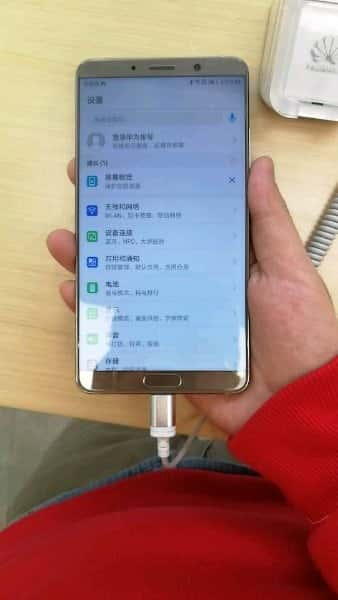 Huawei Mate 10 real life image and packaging leak 7