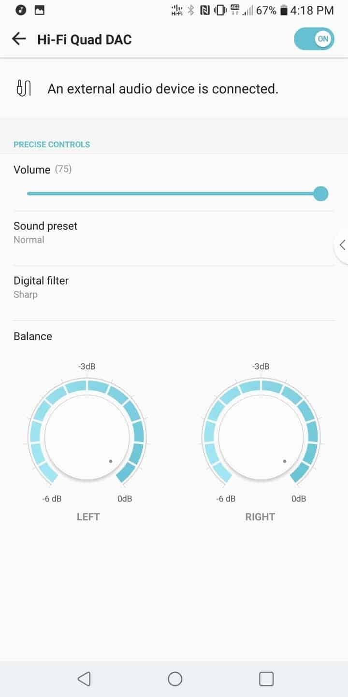 LG V30 AH NS Screenshots audio 1