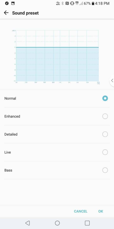 LG V30 AH NS Screenshots audio 2
