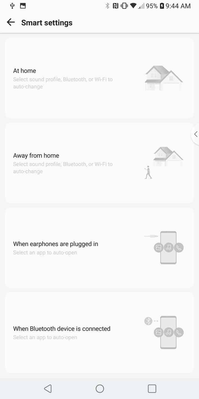 LG V30 AH NS Screenshots smart settings