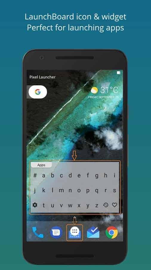 LaunchBoard Screenshot 01