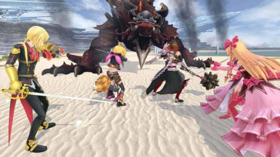 Million Arthur VR Character Command RPG Scrnshot 02