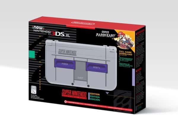 Nintendo announced a Super NES-themed New 3DS XL, and it's gorgeous