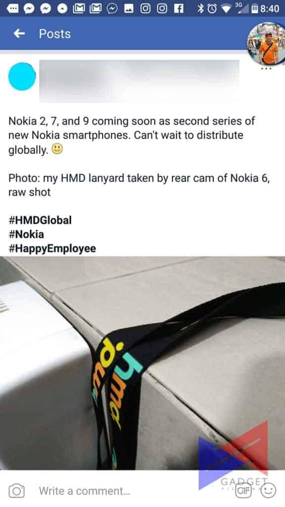 Nokia Employee Blunder Three Handset Launch 1