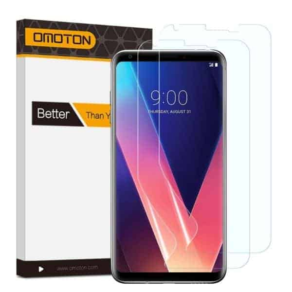 OMOTON LG V30 Screen Protector [2-Pack]