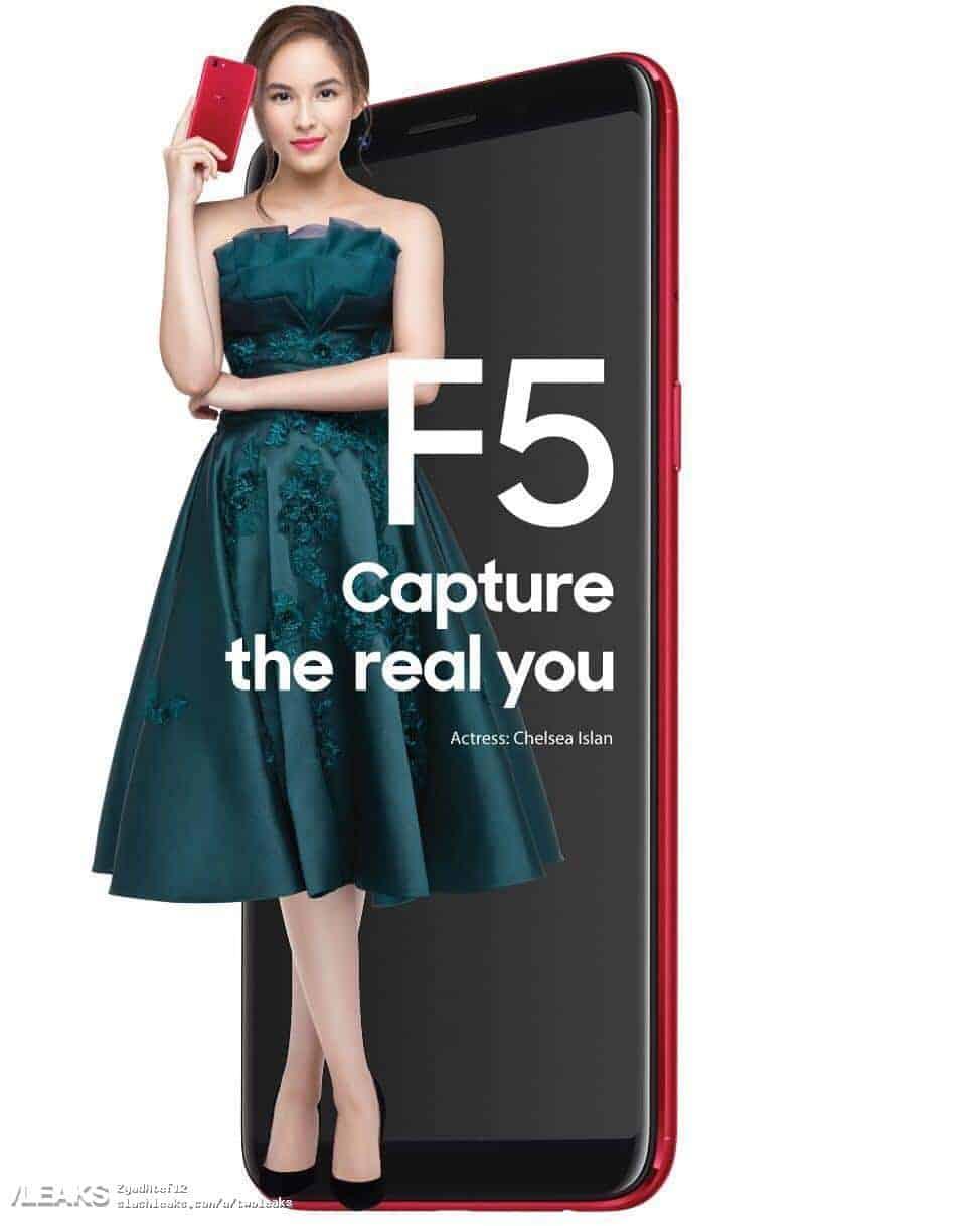 OPPO F5 poster leak 1