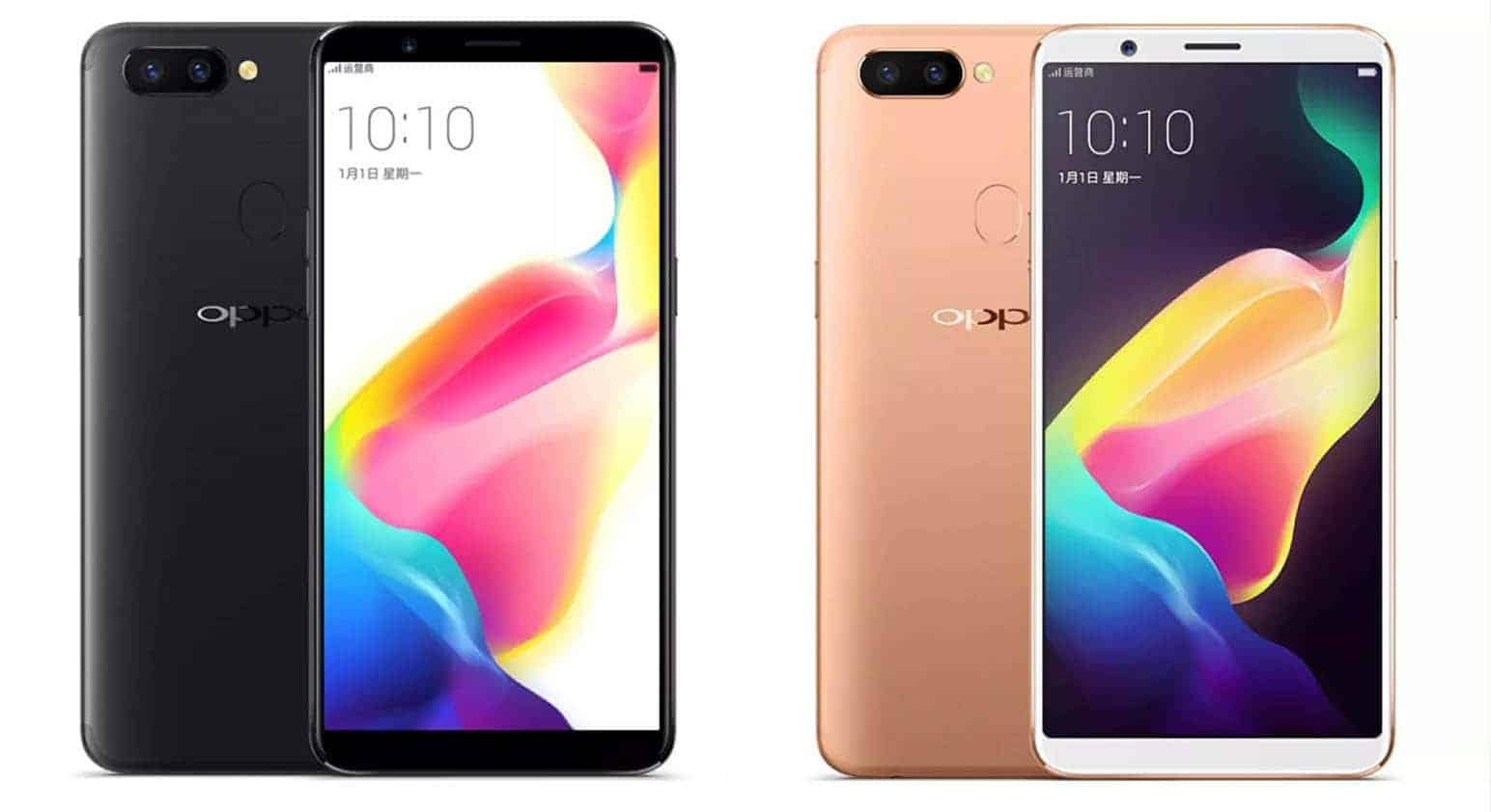 Oppo R11s Leaks In Three Colors And From Multiple Angles