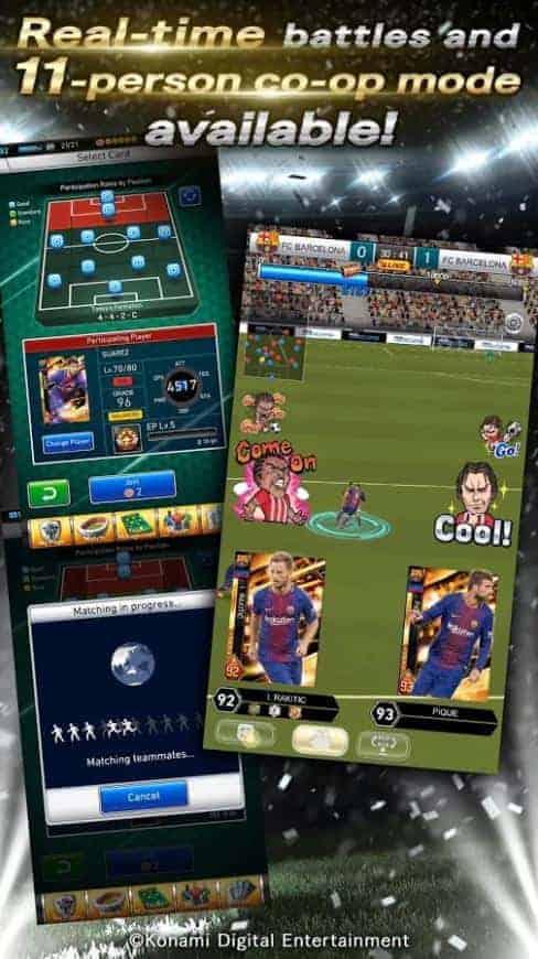 PES CARD COLLECTION Google Play Screenshot 04