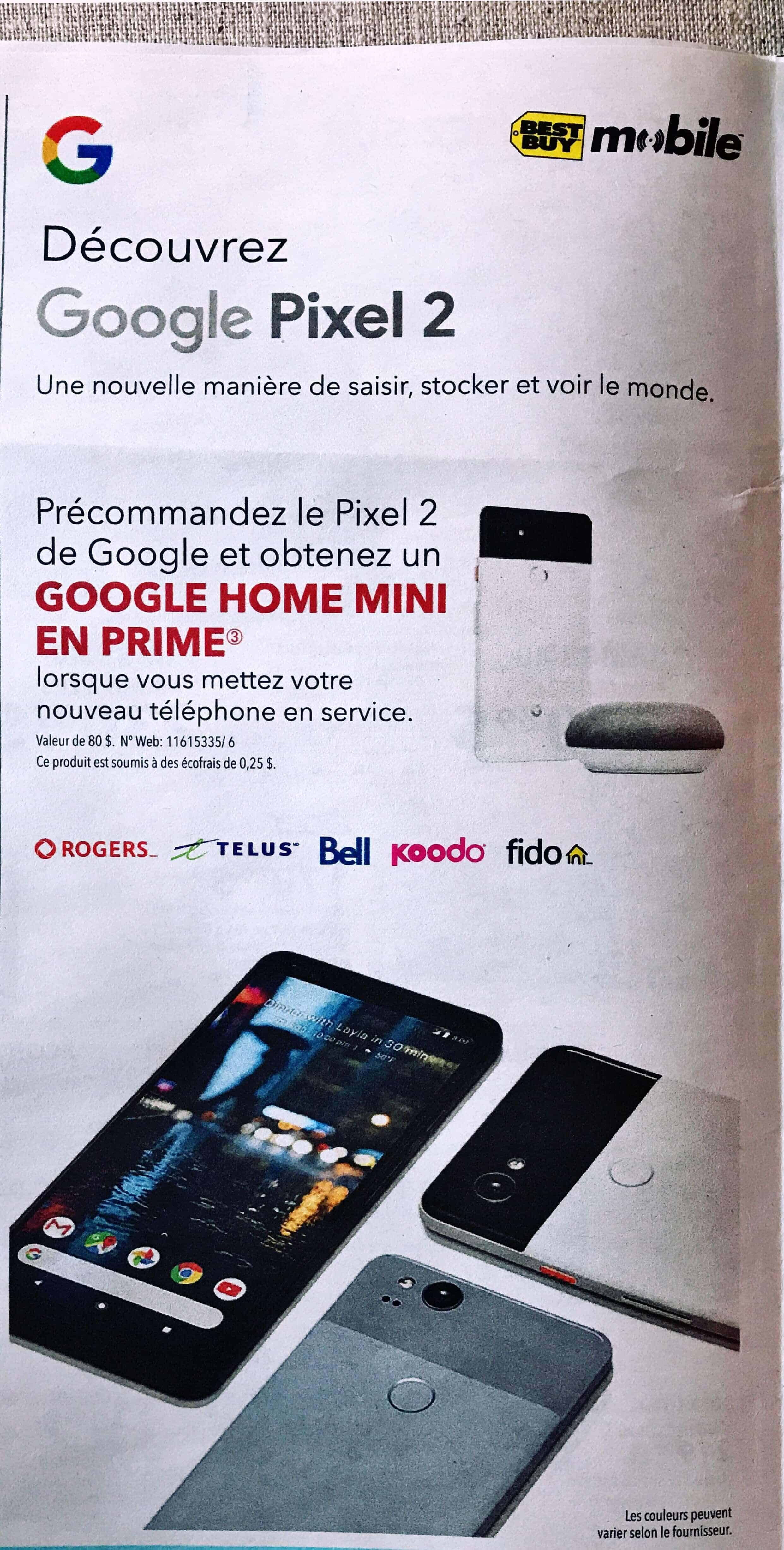 Pixel 2 Best Buy Ads 1