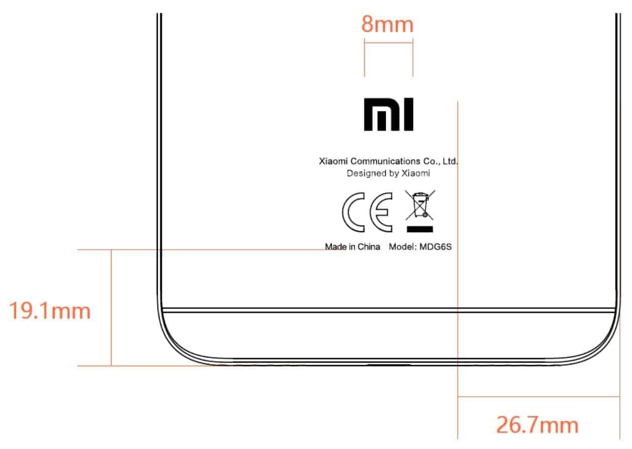 Redmi Note 5A FCC 5
