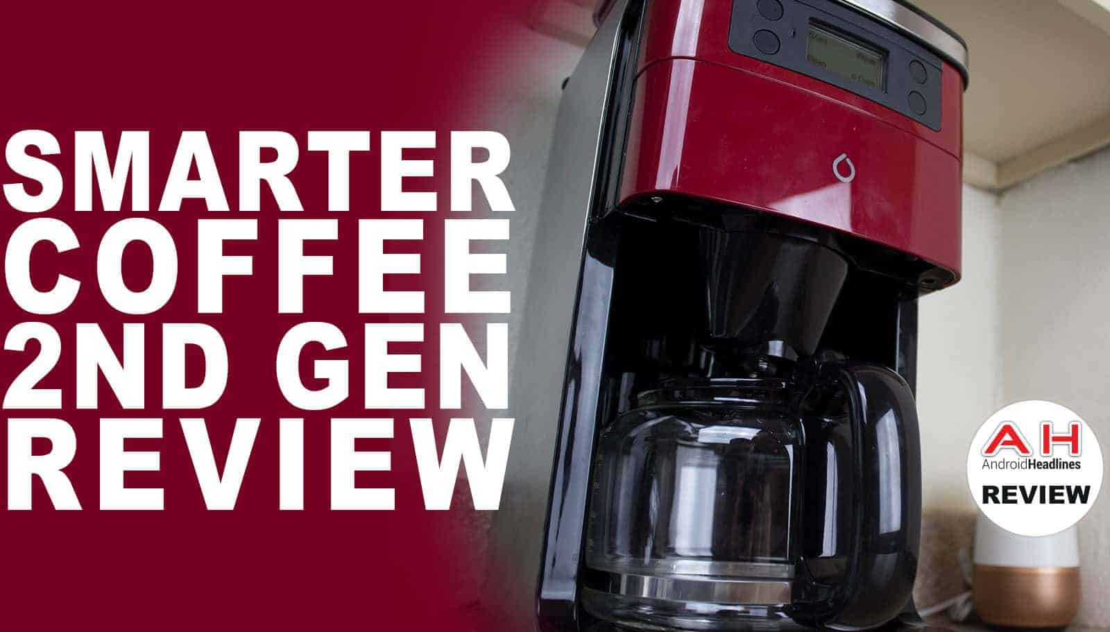 Smart Home Coffee Maker : Smarter Coffee Maker Video Review - Smart Home Barista Androidheadlines.com
