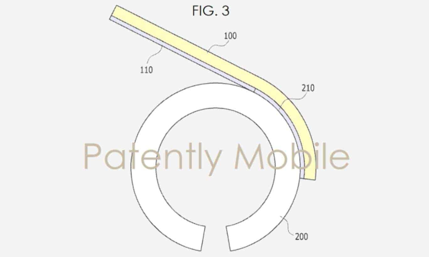Samsung Flexible Bracelet Patently Mobile 2
