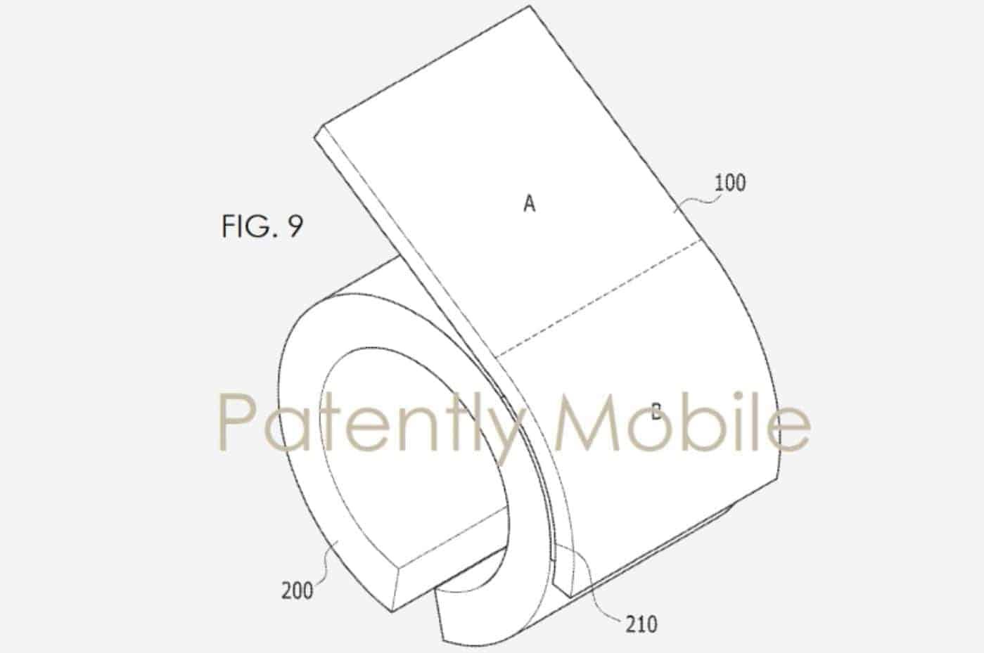 Samsung Flexible Bracelet Patently Mobile 4