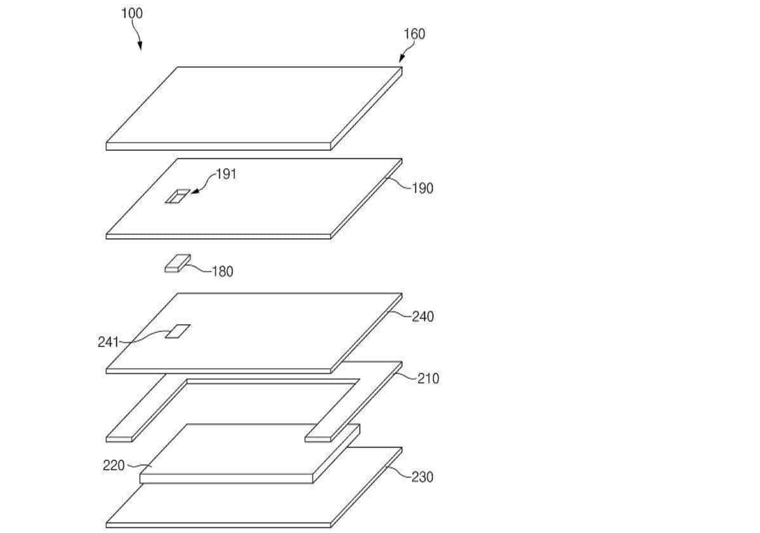 Samsung Pressure Sensitive On screen Fingerprint Reader KIPRIS 2