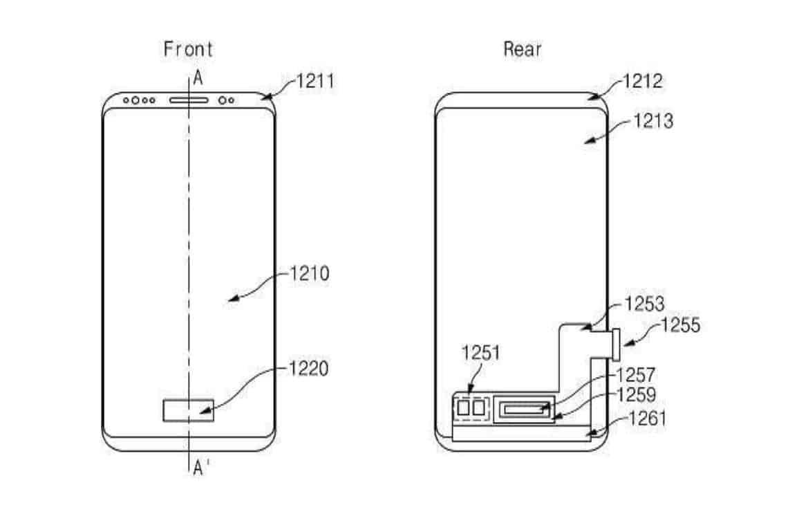 Samsung Pressure Sensitive On screen Fingerprint Reader KIPRIS 4