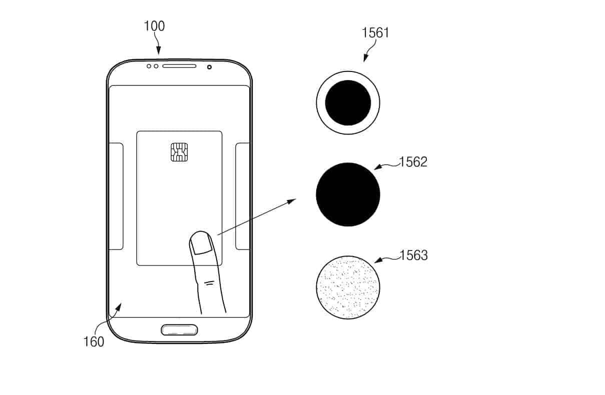 Samsung Pressure Sensitive On screen Fingerprint Reader KIPRIS 5