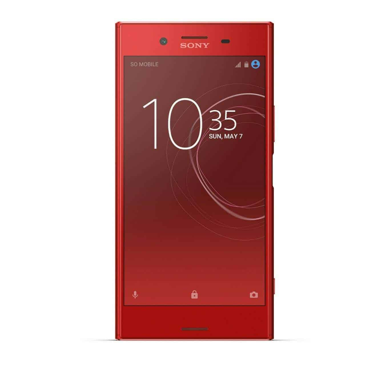sony intros 39 rosso 39 aka red variant of the xperia xz. Black Bedroom Furniture Sets. Home Design Ideas