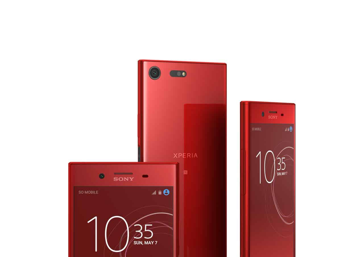 xperia xz premium rosso variant to be available on nov 10. Black Bedroom Furniture Sets. Home Design Ideas