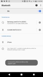 Sony Xperia XZ1 AH NS Screenshots audio aptx