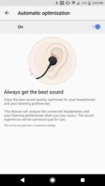 Sony Xperia XZ1 AH NS Screenshots audio optimization