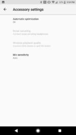 Sony Xperia XZ1 AH NS Screenshots audio optimization 2
