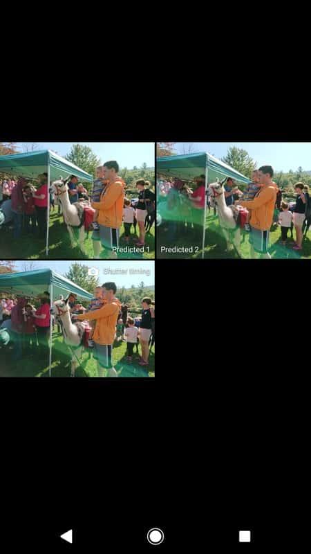 Sony Xperia XZ1 AH NS Screenshots camera predictive shot