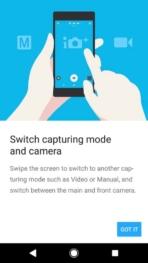 Sony Xperia XZ1 AH NS Screenshots camera tutorial