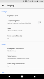 Sony Xperia XZ1 AH NS Screenshots display 01