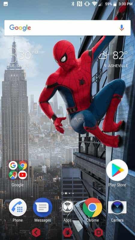 Sony Xperia XZ1 AH NS Screenshots themes 3