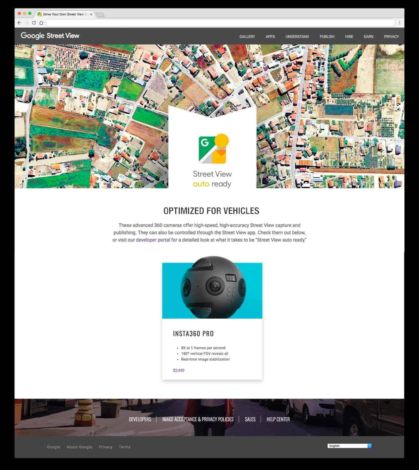 Upcoming Google View ready%E2%80%99 webpage