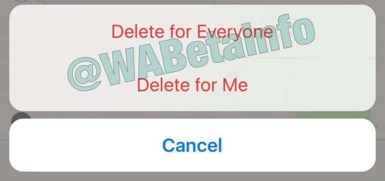WhatsApp Delete for Everyone 1