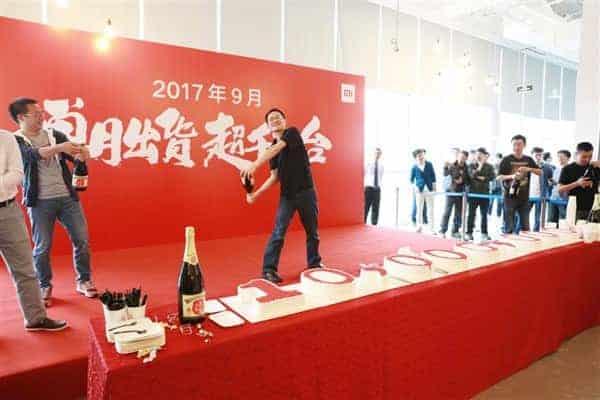 Xiaomi September 2017 sales 3
