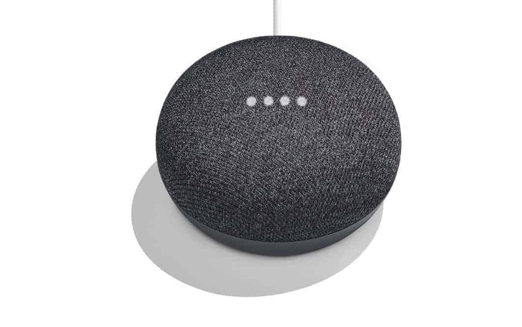 google home mini charcoal2