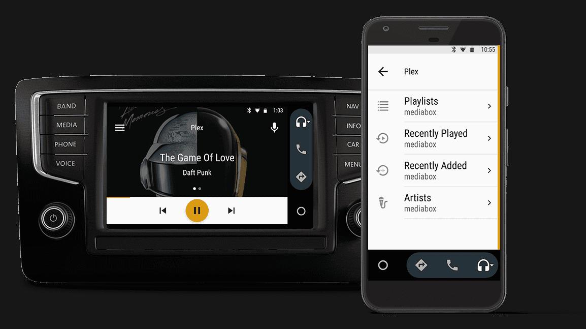 plex android auto 1