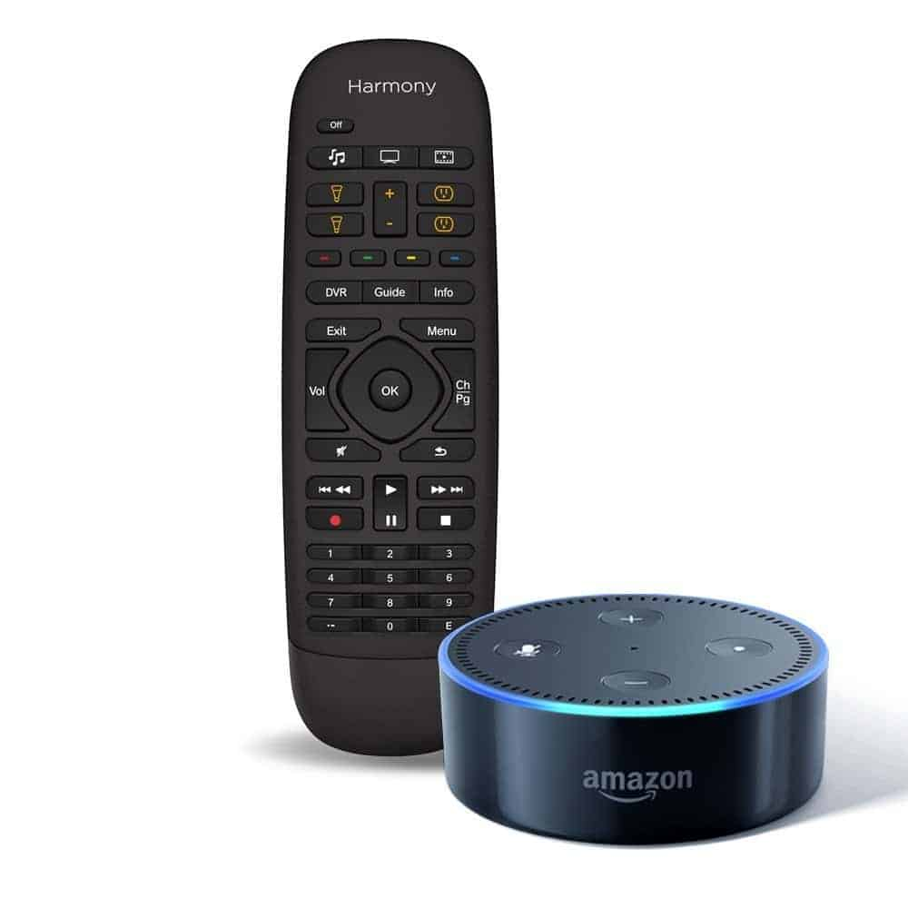 Logitech Harmony Companion + All-New Echo Dot