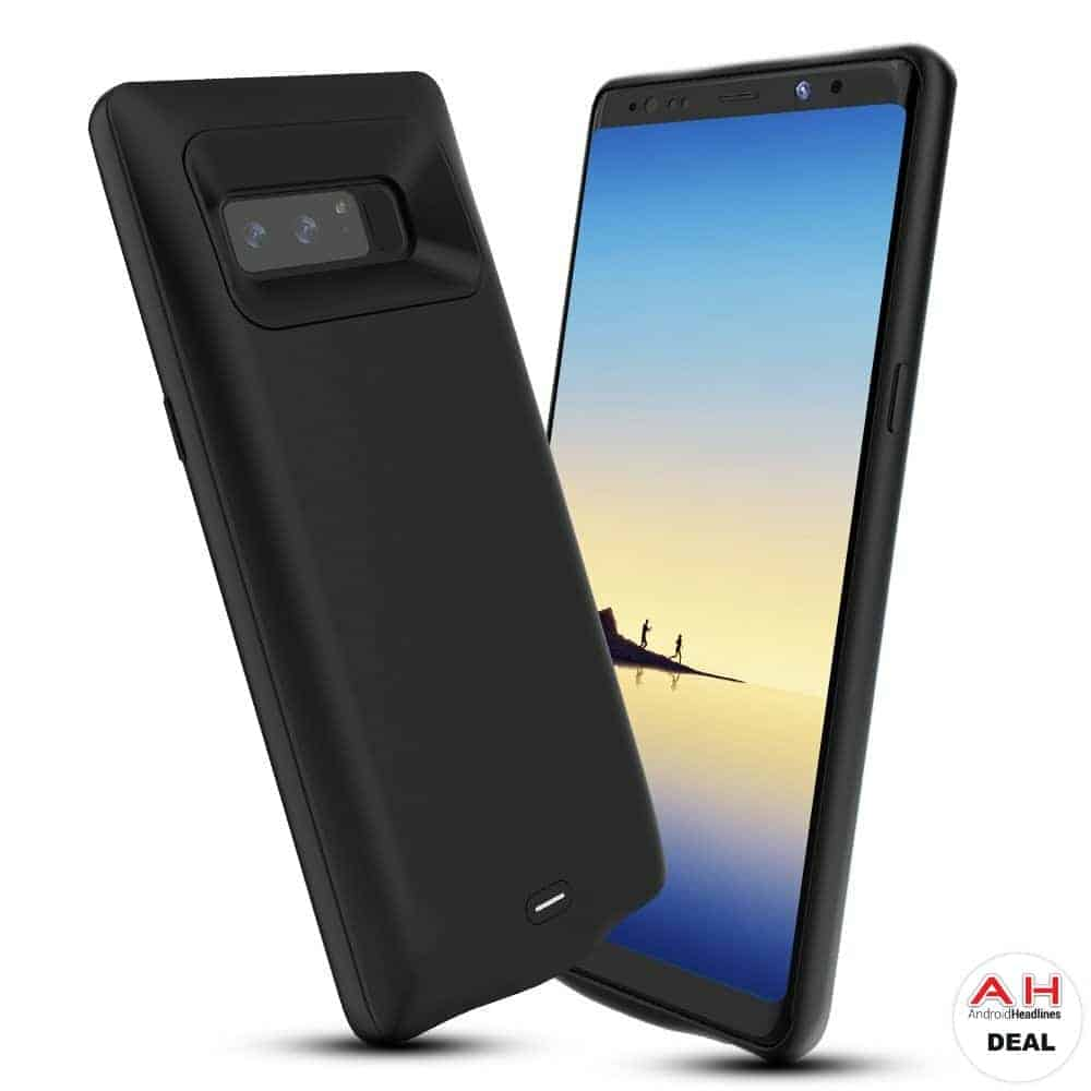 deal alclap galaxy note 8 battery case for w coupon android news. Black Bedroom Furniture Sets. Home Design Ideas
