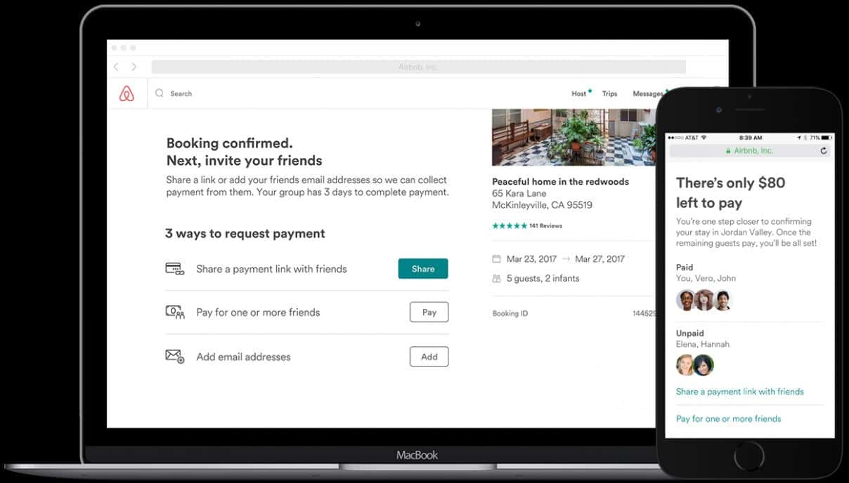 Airbnb split 8