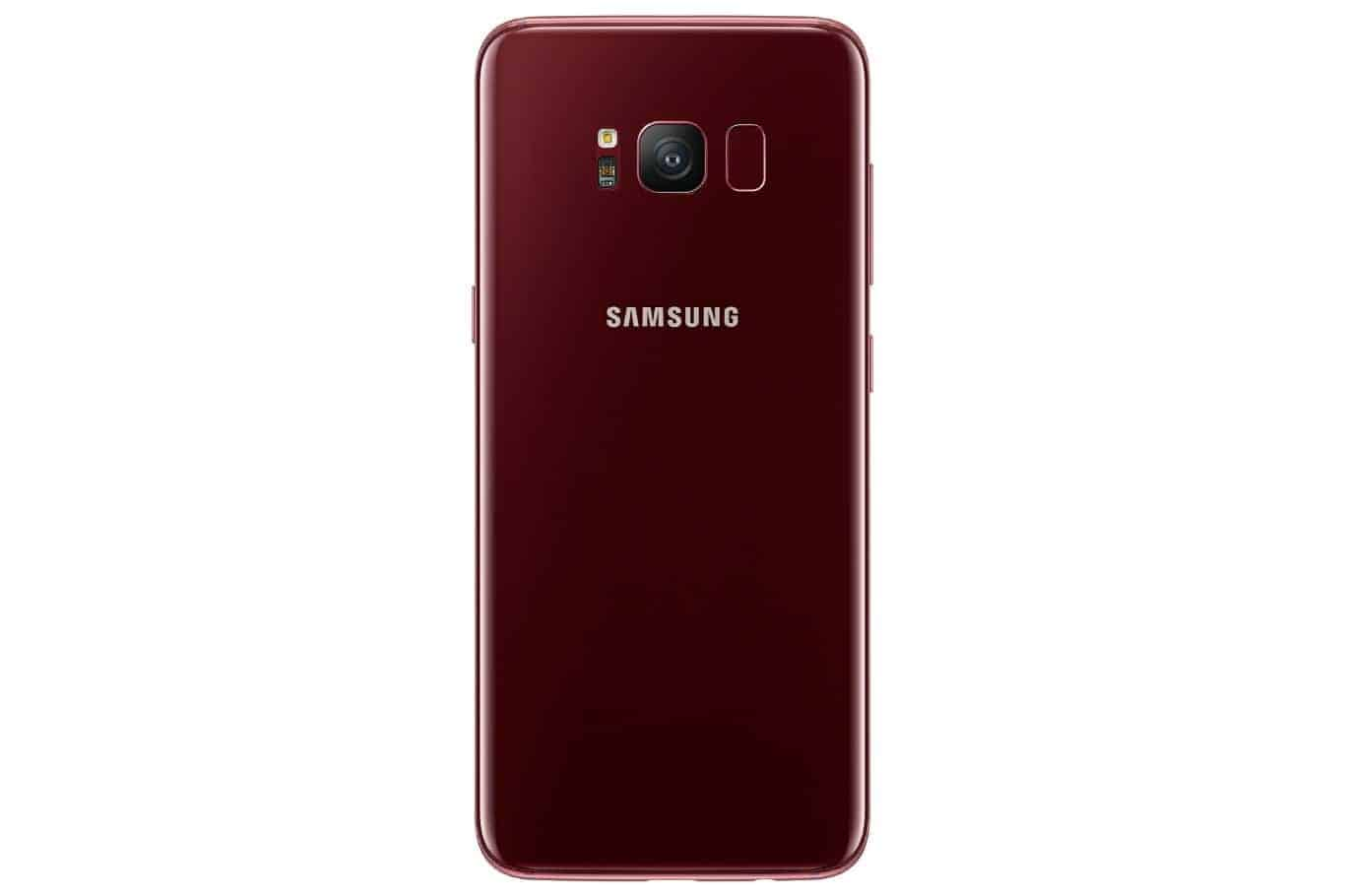 Burgundy Red Galaxy S8 Can Now Be Purchased In South Korea ...