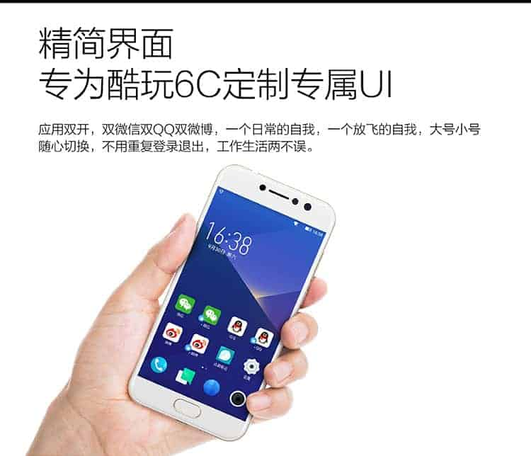 Coolpad Cool Play 6C 5