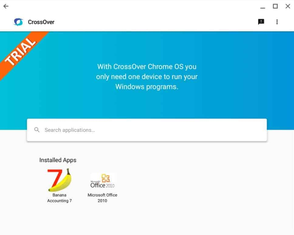 CrossOver on Chrome OS Beta Google Play Screenshot 01