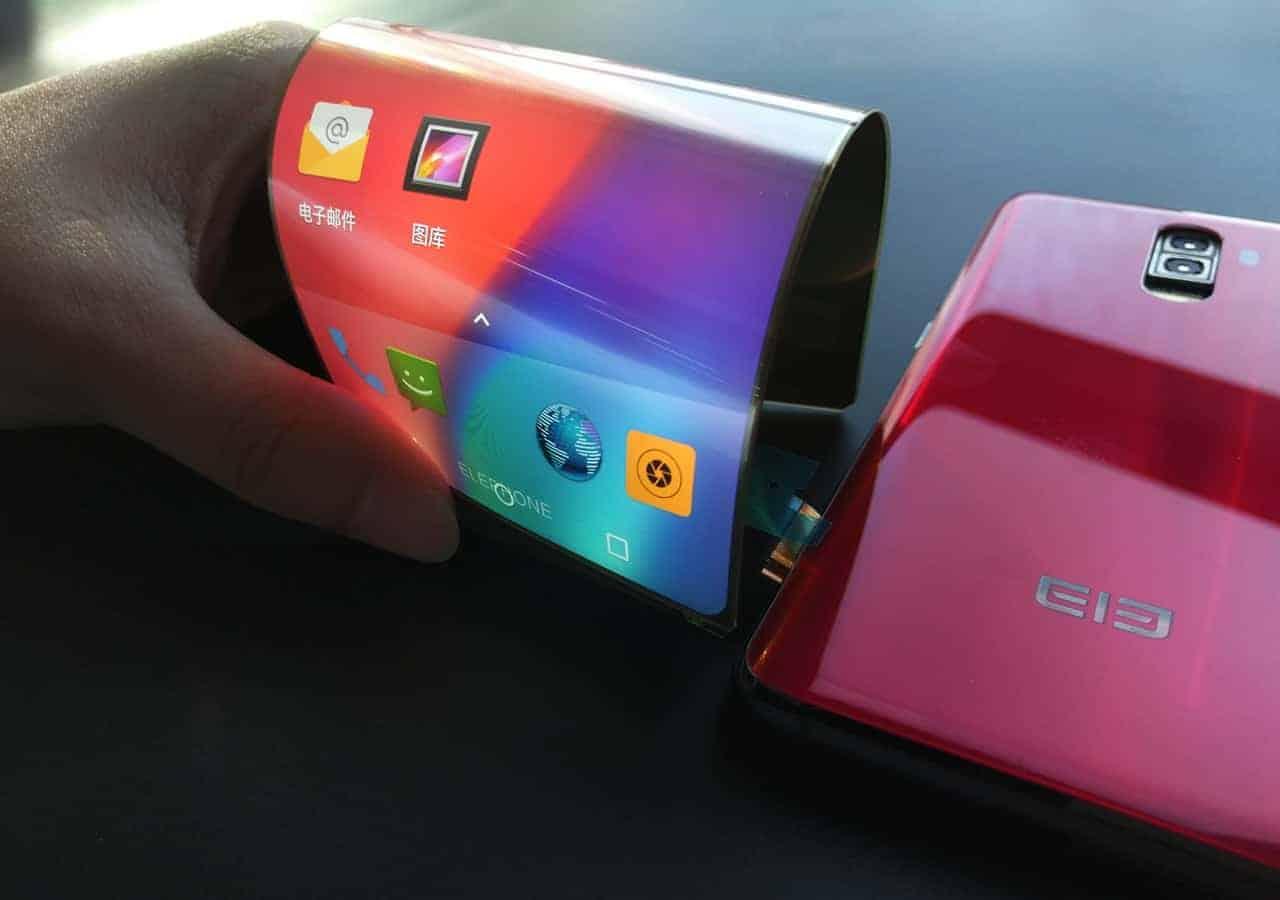 First Flexible Phone Leaks Elephone S9  SD660 Soc