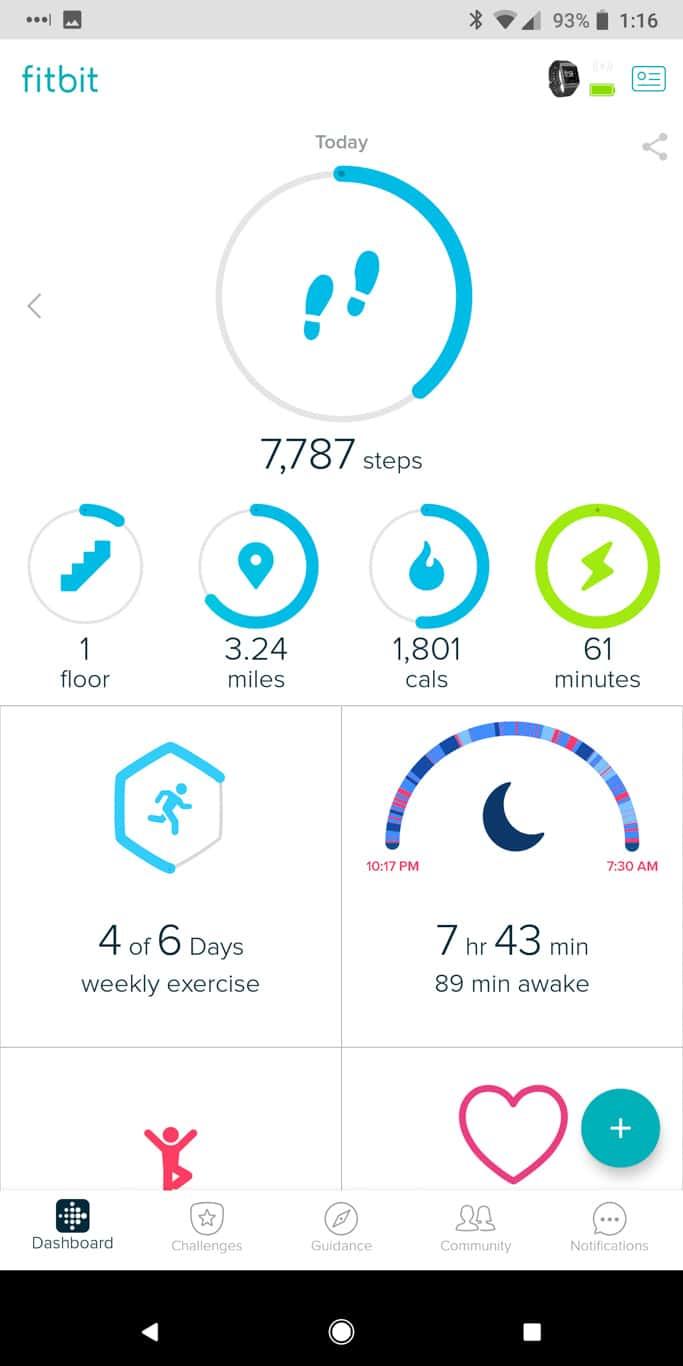 Fitbit App AM AH 131655