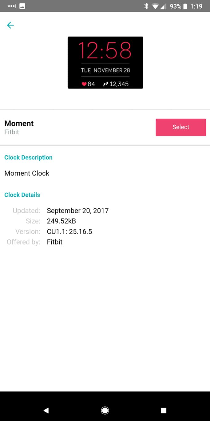 Fitbit App AM AH 131948