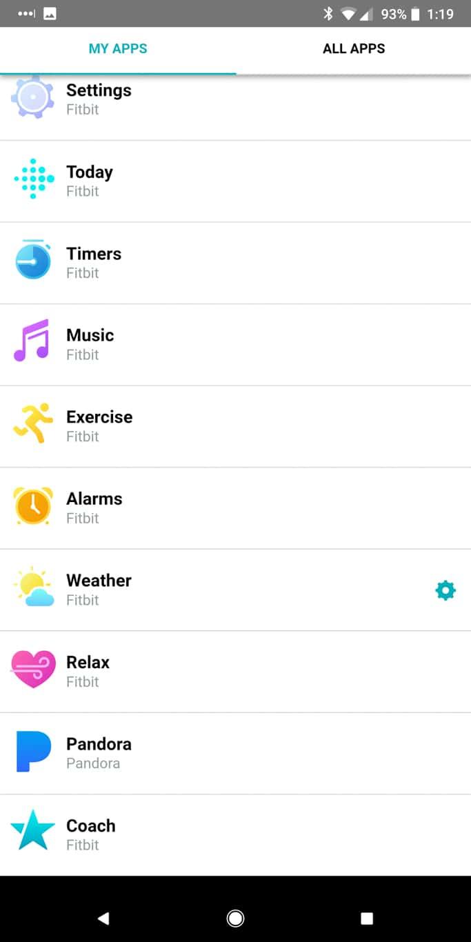Fitbit App AM AH 132000