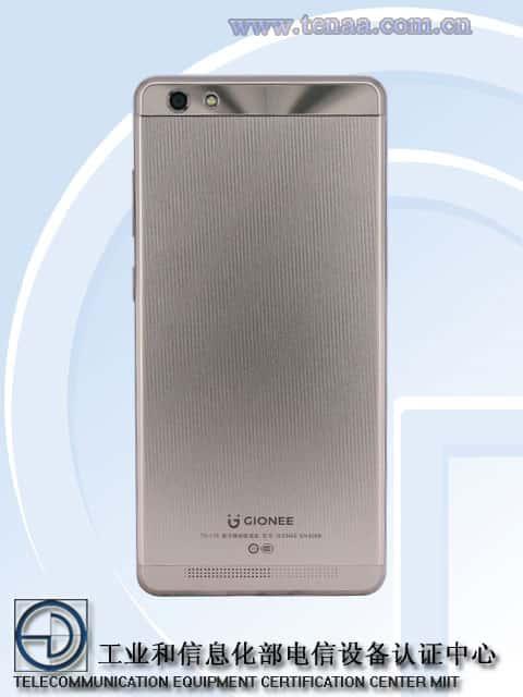 GIONEE GN5006 TENAA 2
