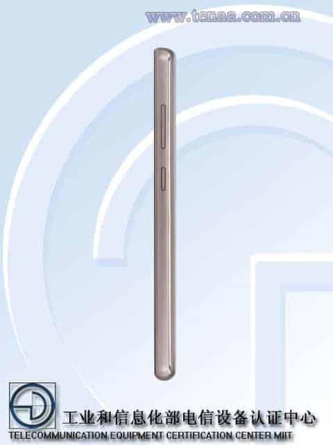 GIONEE GN5006 TENAA 3