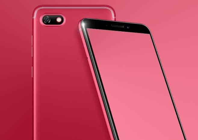 Gionee F205 official image 1