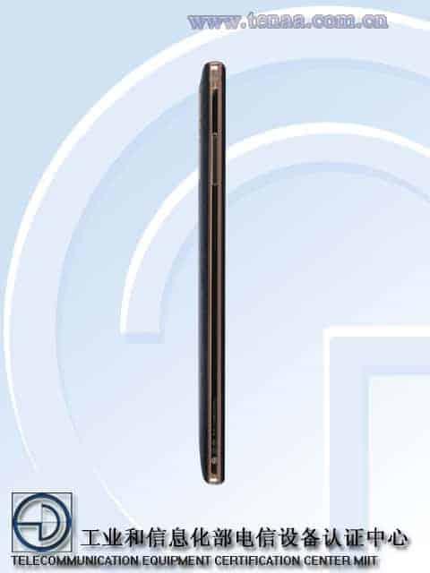 Gionee M7 Plus TENAA 2