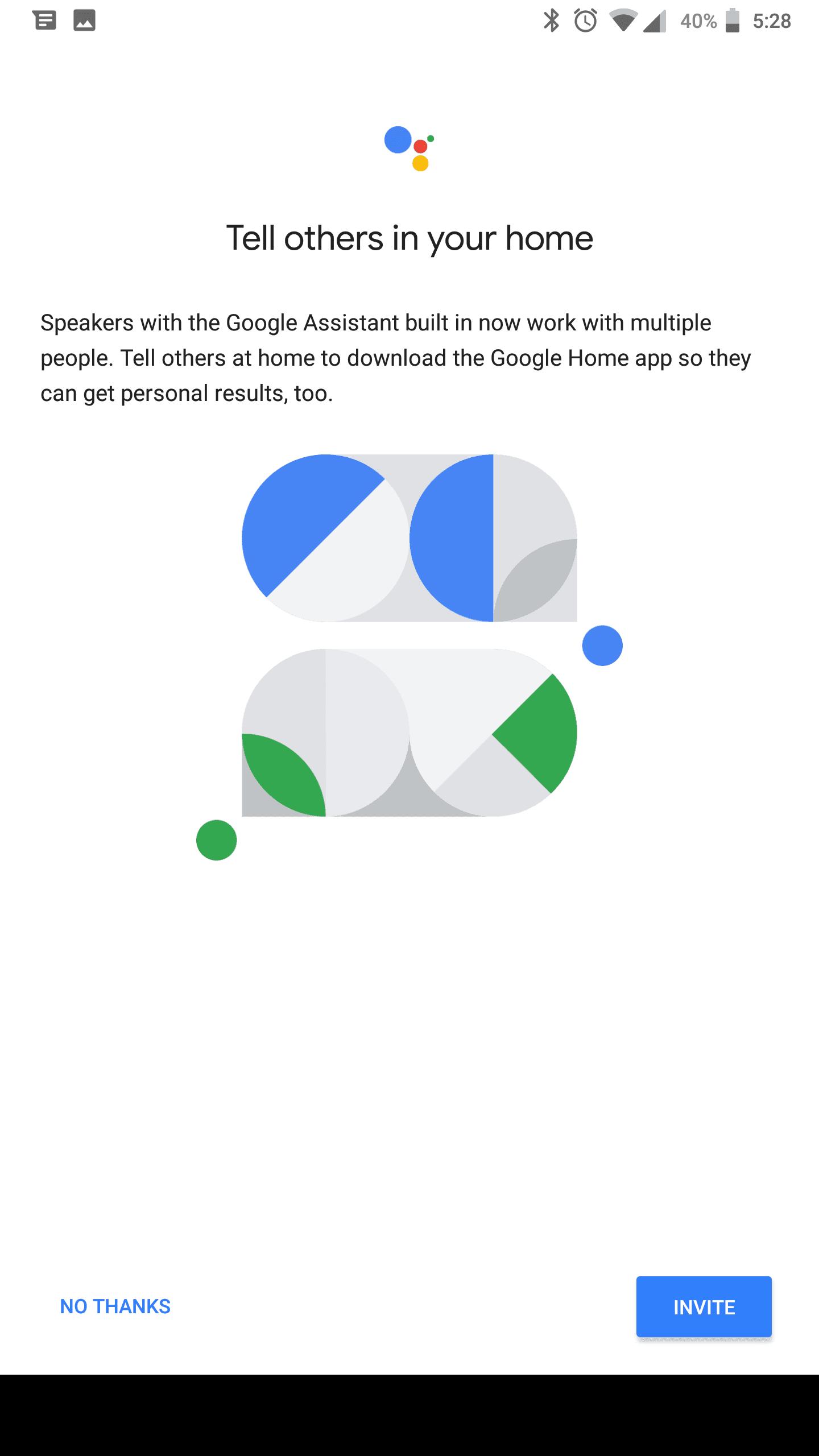 Google Home Mini AH NS Screenshots assistant share