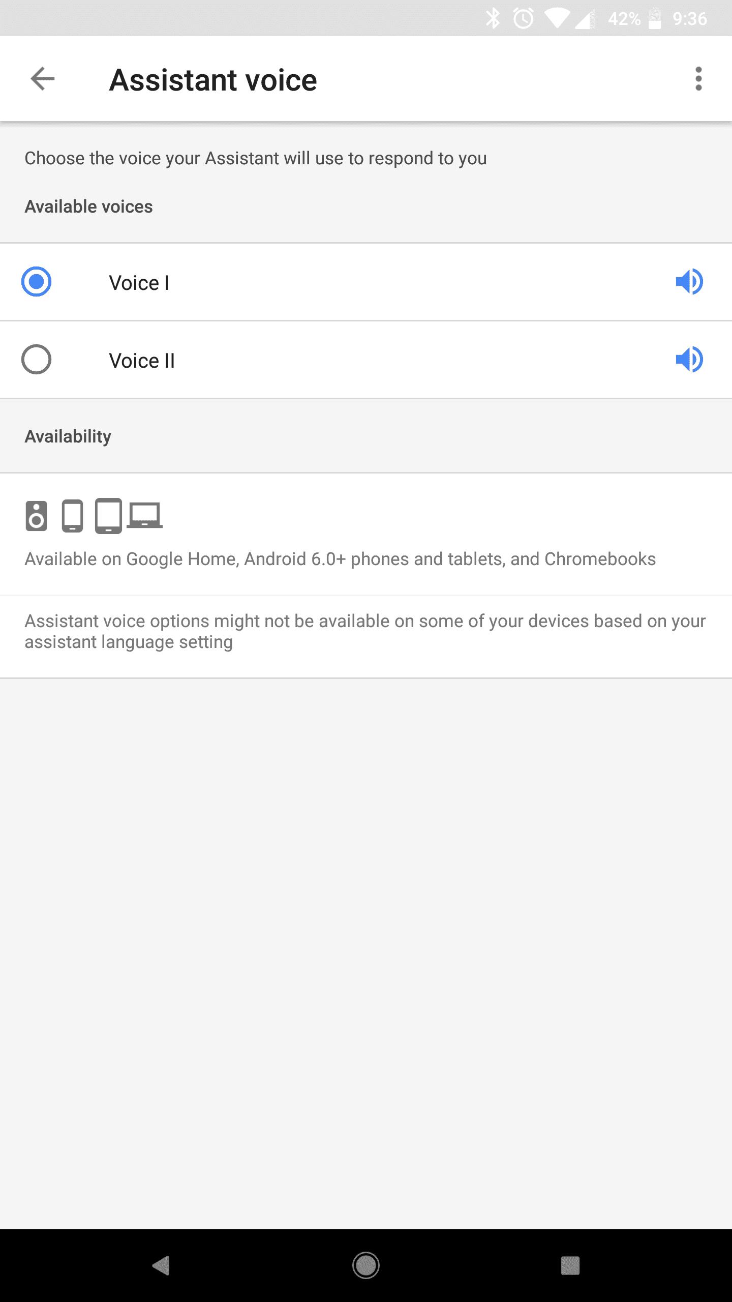 Google Home Mini AH NS Screenshots assistant voice